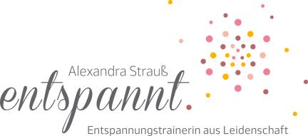entspannt. Alexandra Strauß Logo